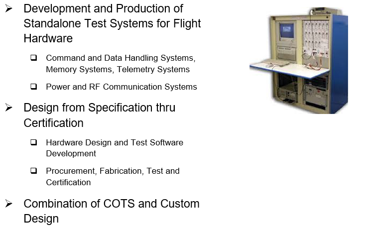 Test Systems Design