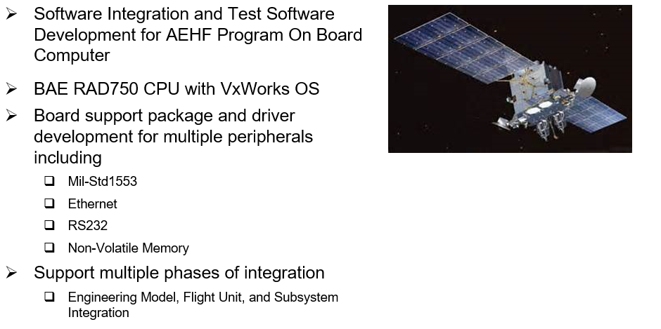 Example AEHF Test Software